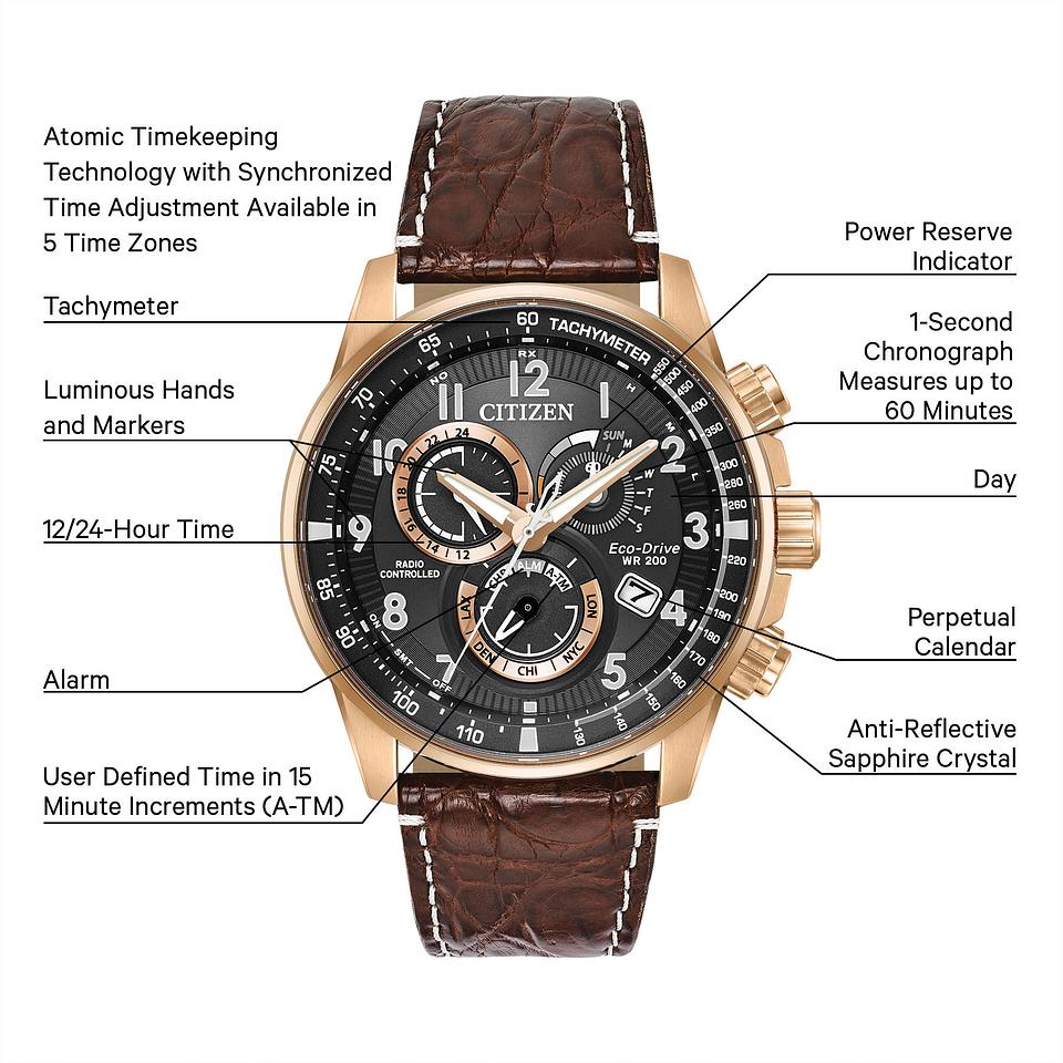 90404b8650e6 PCAT - Men s Eco-Drive AT4133-09E Chronograph Sports Watch