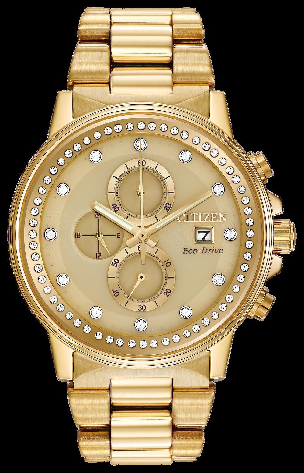 Mens Citizen Gold Watch - ebay.co.uk