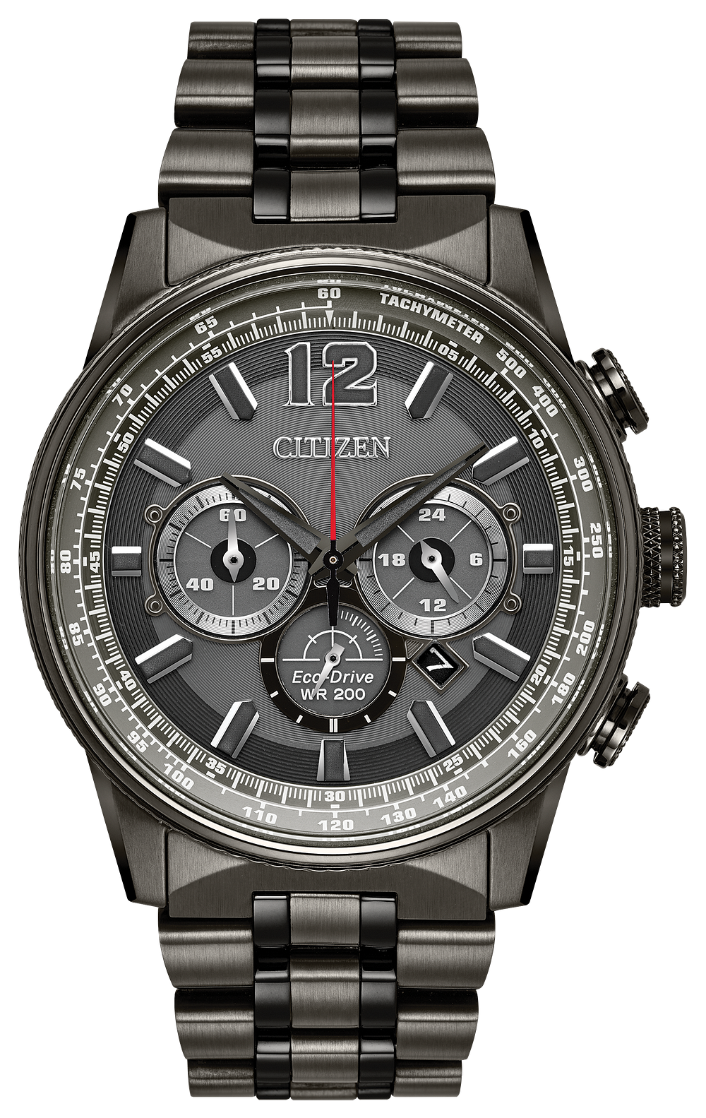b5f75de8fe7662 Nighthawk - Men's Eco-Drive CA4377-53H Chronograph Watch | Citizen