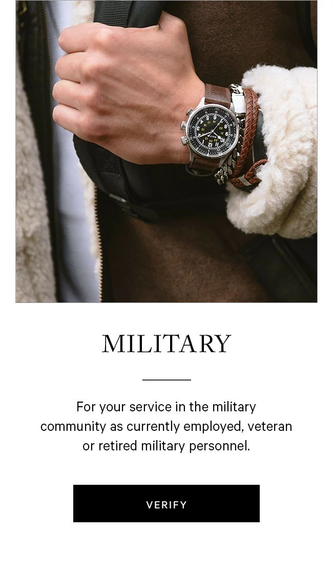 military special offer