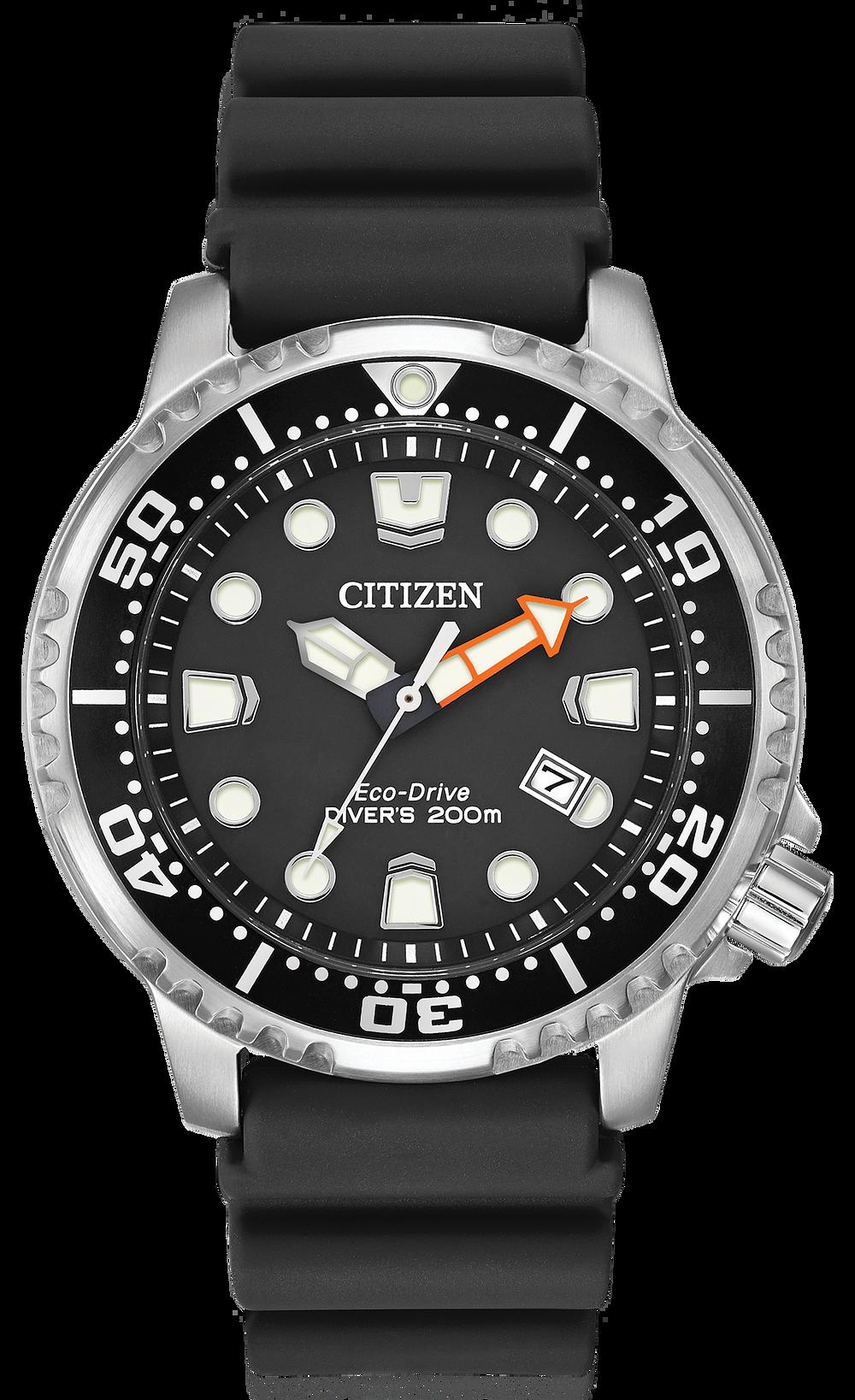 9d0eb9e0e Promaster Diver - Men s Eco-Drive BN0150-28E Black Dial Watch