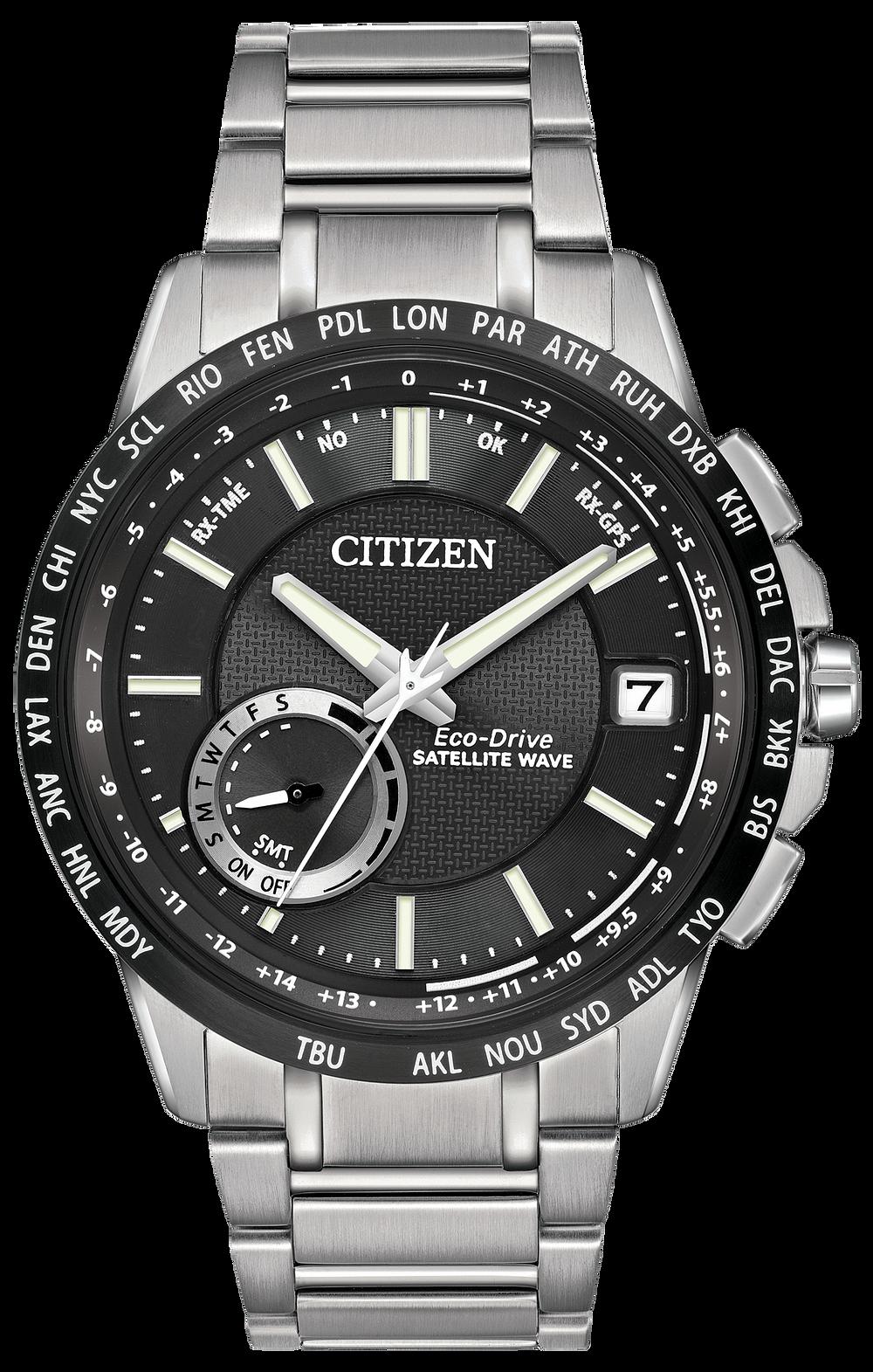9e1c30d96ad Satellite Wave World Time GPS - Men s Steel CC3005-85E Watch
