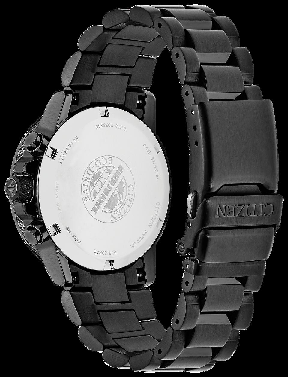 d874432da43 Nighthawk - Men s Eco-Drive CA0295-58E Chronograph Watch