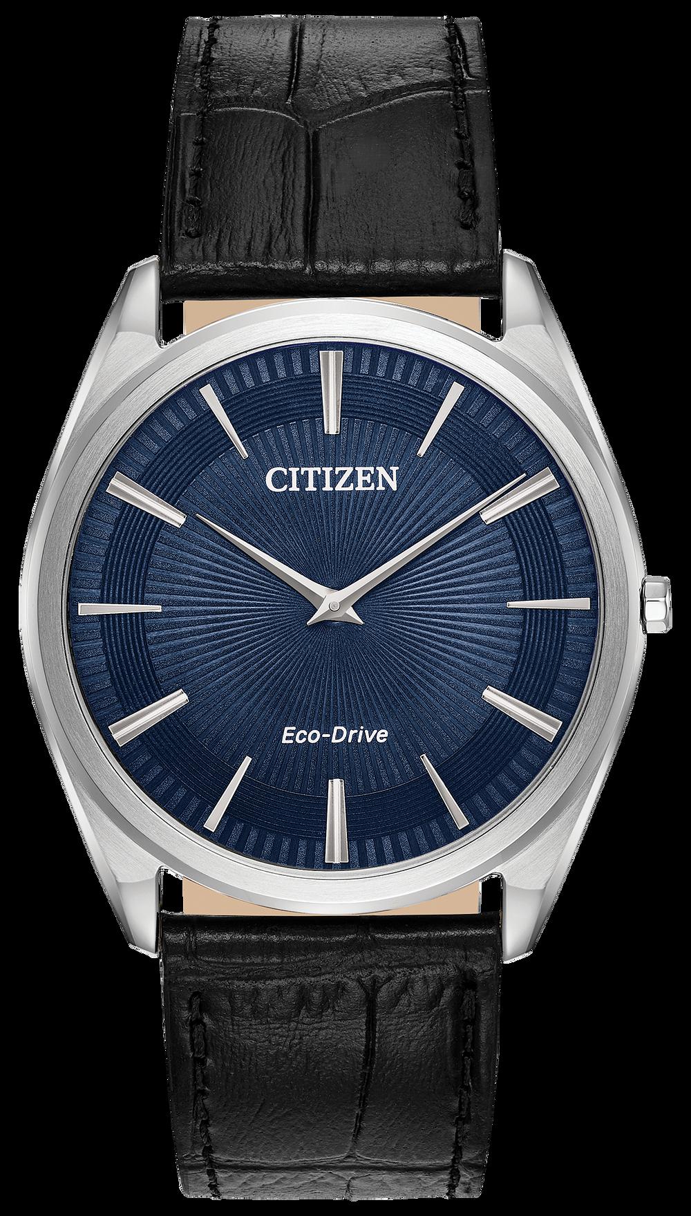 4fd7c5074f0 Stiletto - Men s Eco-Drive AR3070-04L Blue Dial Steel Watch