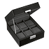 Citizen Black 6-Piece Watch Box profile view