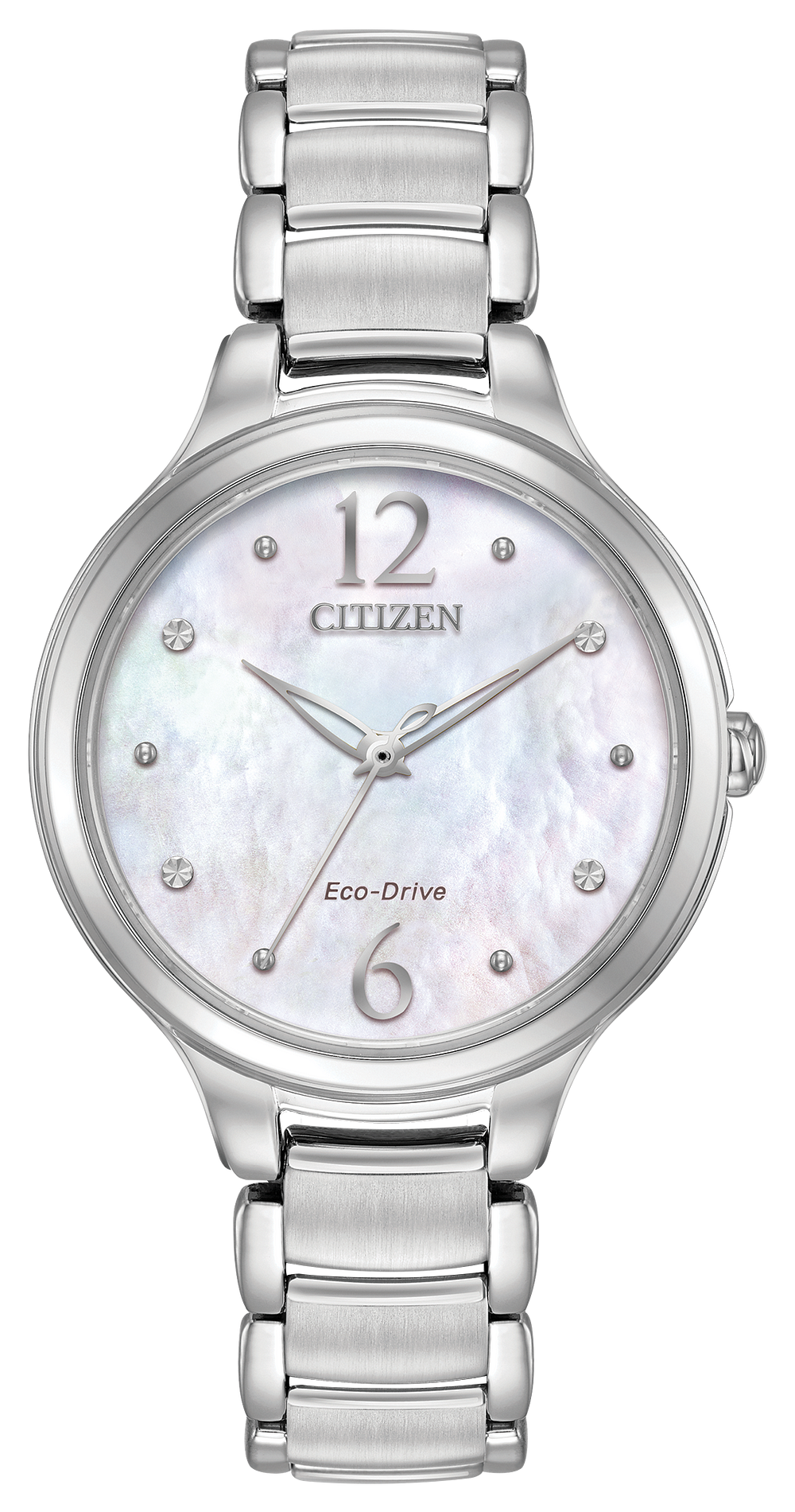 Citizen L - Ladies Eco-Drive EM0550-59D Mother-of-Pearl Watch  1962a6bd42