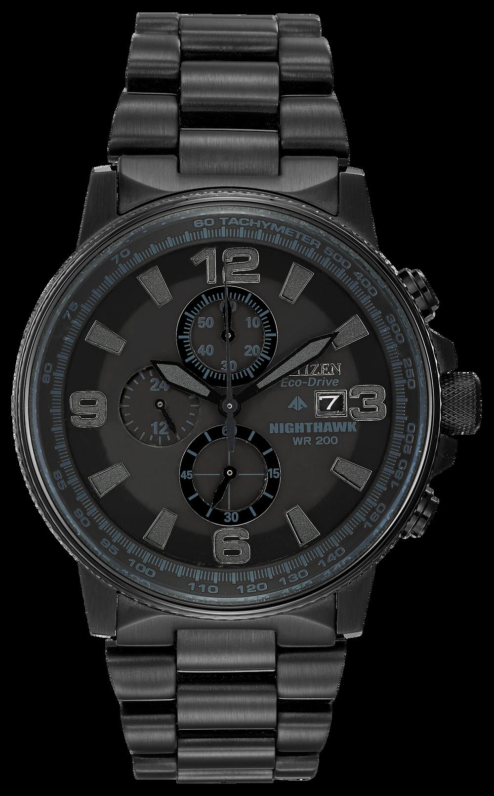 4633aab8c Nighthawk - Men's Eco-Drive CA0295-58E Chronograph Watch | Citizen