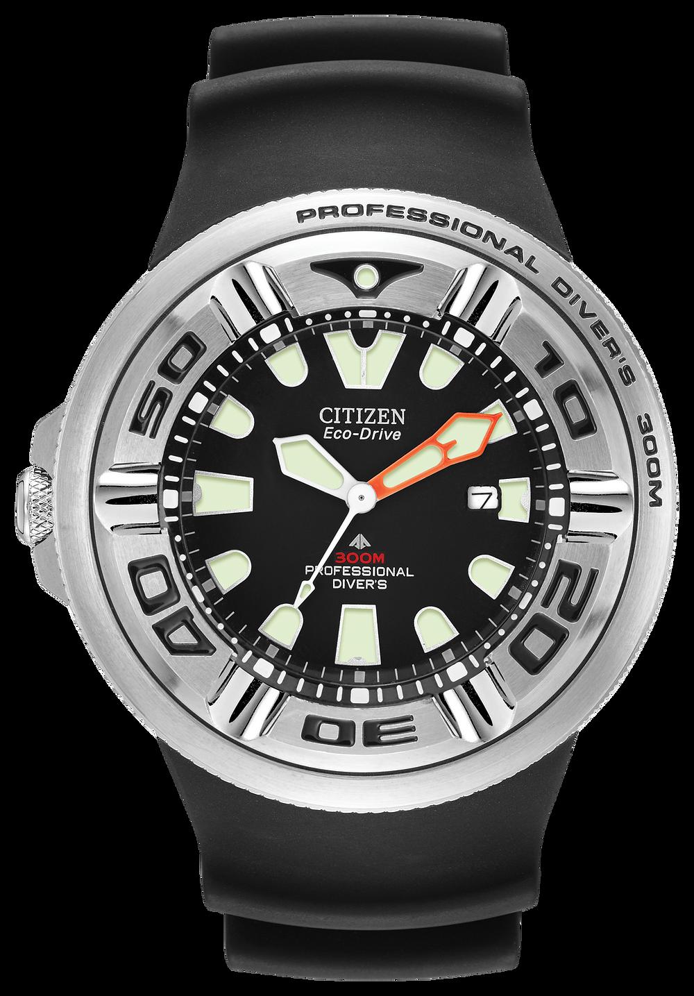 Promaster diver men 39 s eco drive bj8050 08e steel diver watch citizen - Citizen promaster dive watch ...