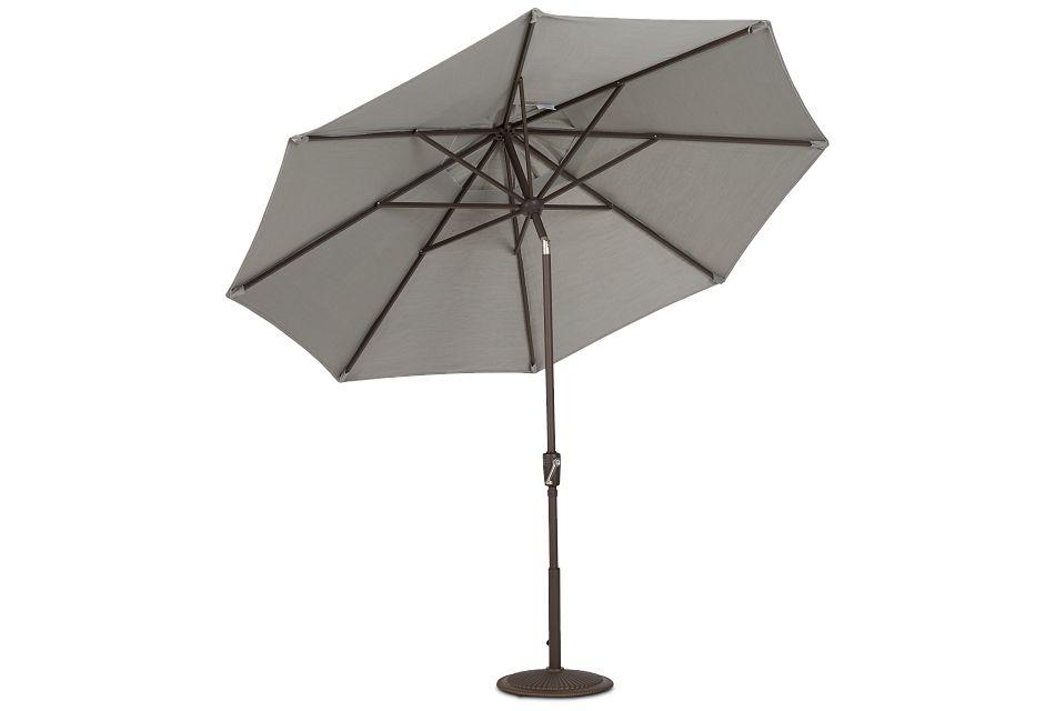 Maui Gray Umbrella Set