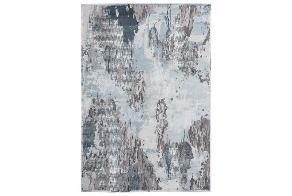 Legend Light Blue 5x8 Area Rug