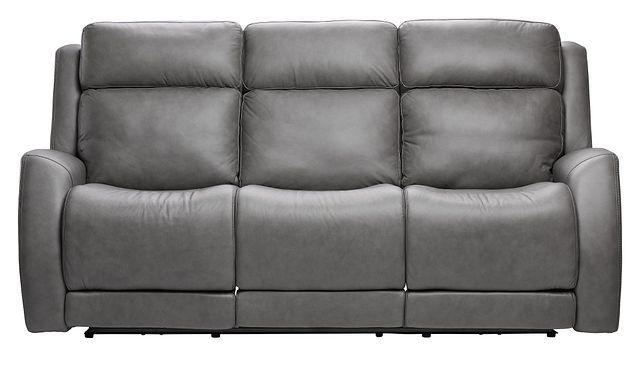Rawlings Dark Gray Leather Power Reclining Sofa (0)