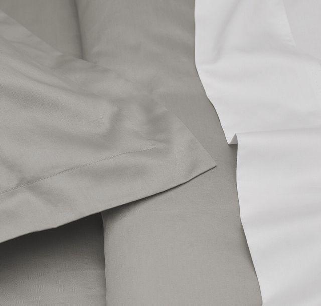 Egyptian Cotton Gray 400 Thread Duvet Set (0)