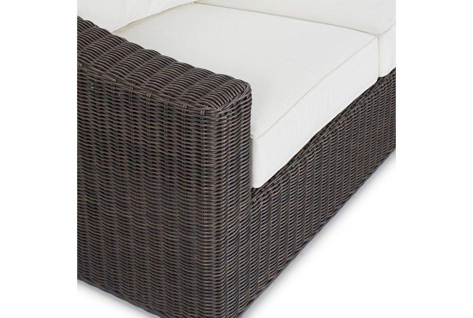 Canyon Gray White Sofa