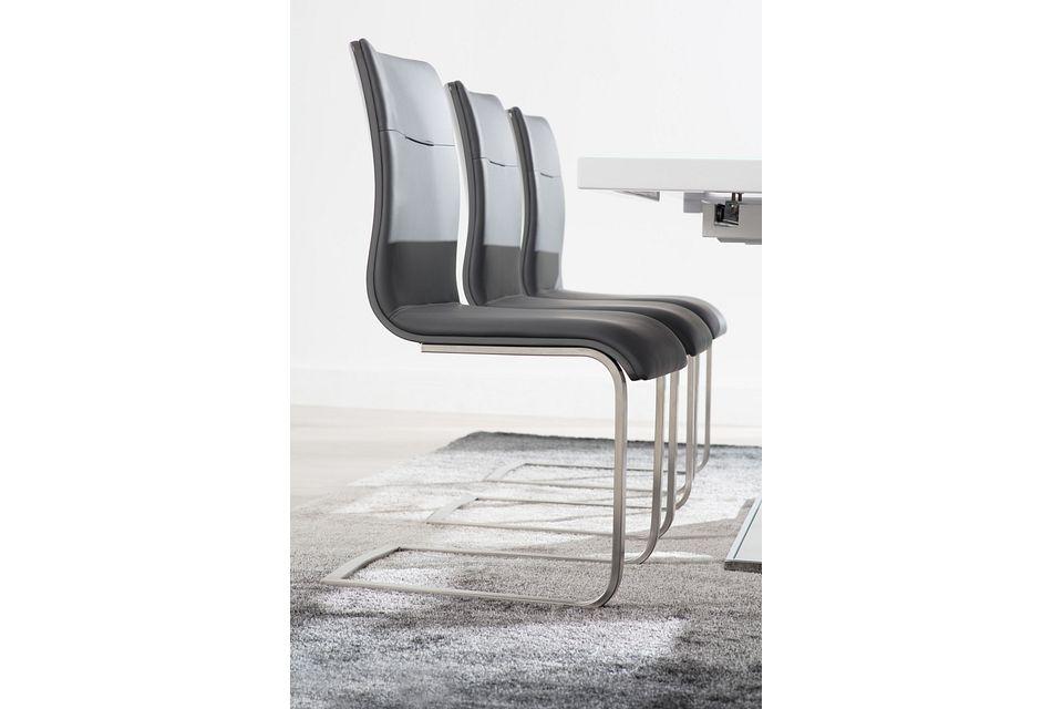Drake Gray Upholstered Side Chair
