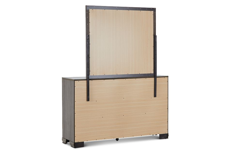 Colson Light Tone Dresser & Mirror