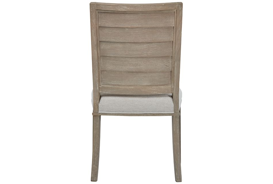 Zephyr Beige Upholstered Side Chair