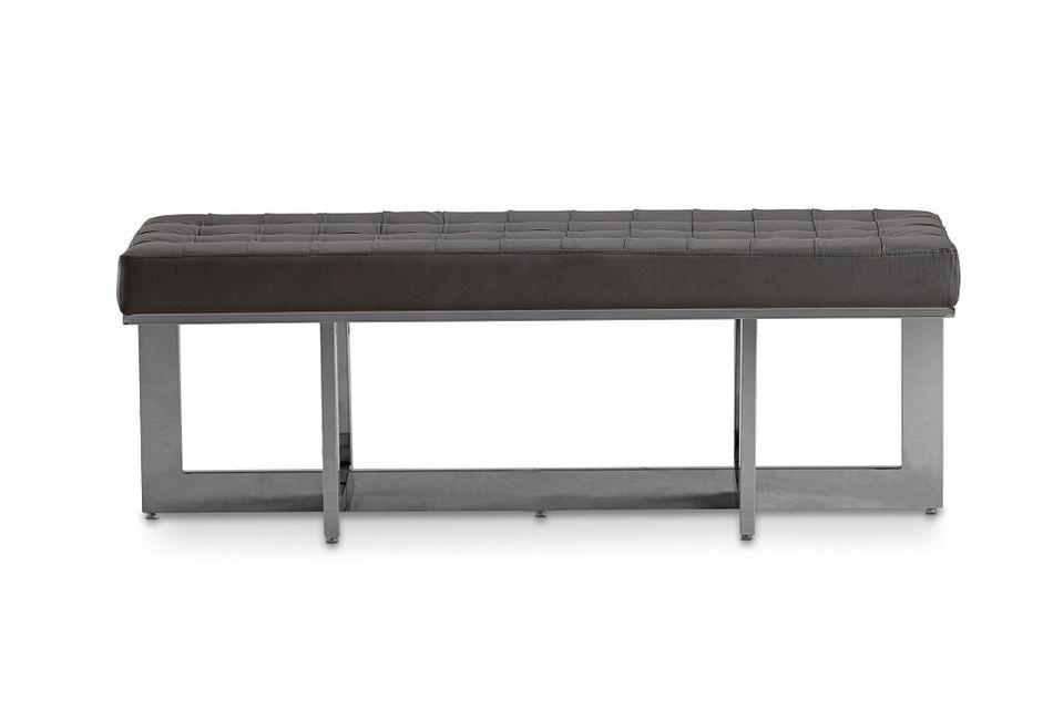 Cortina Gray Uph Bench
