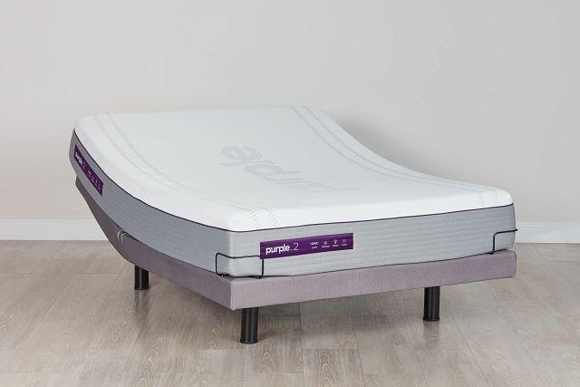 Purple Hybrid Adjustable Mattress Set (0)