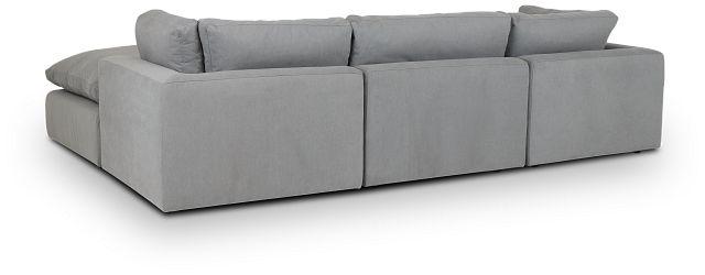 Grant Light Gray Fabric 4-pc Bumper Sect