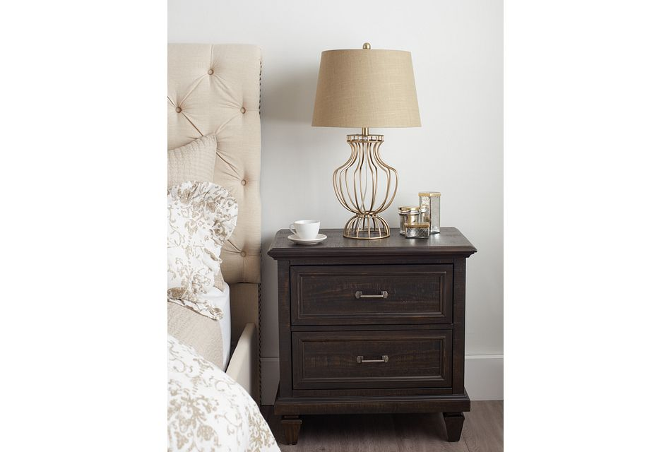 Sonoma Dark Tone  Drawer Nightstand