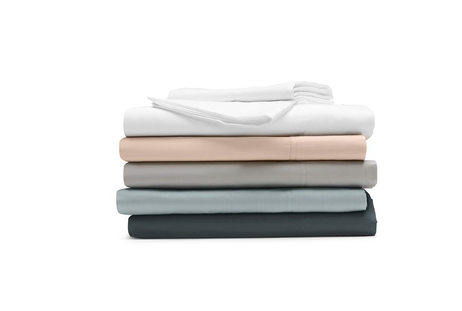 Cotton Sateen Pink 300 Thread Sheet Set