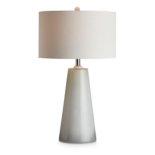 Bo Gray Glass Table Lamp (2)