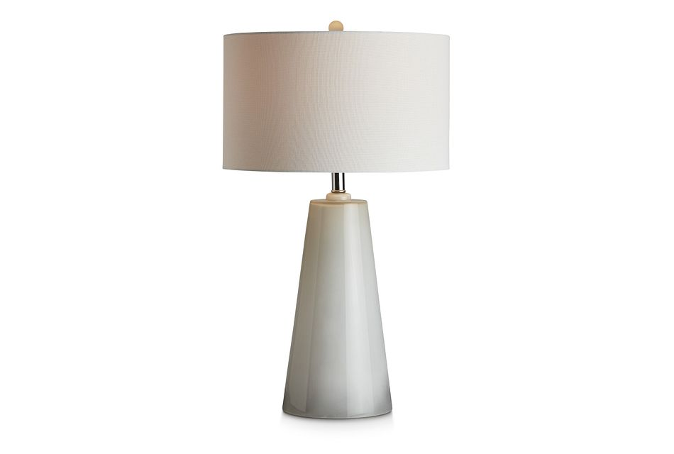 Bo Gray Glass Table Lamp