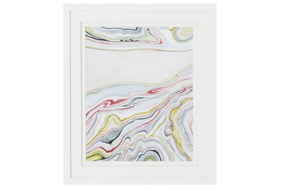 Lava Multicolored Framed Wall Art