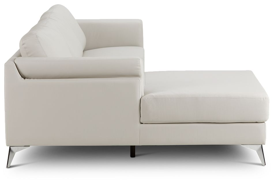Gianna Gray Micro Left Chaise Sectional