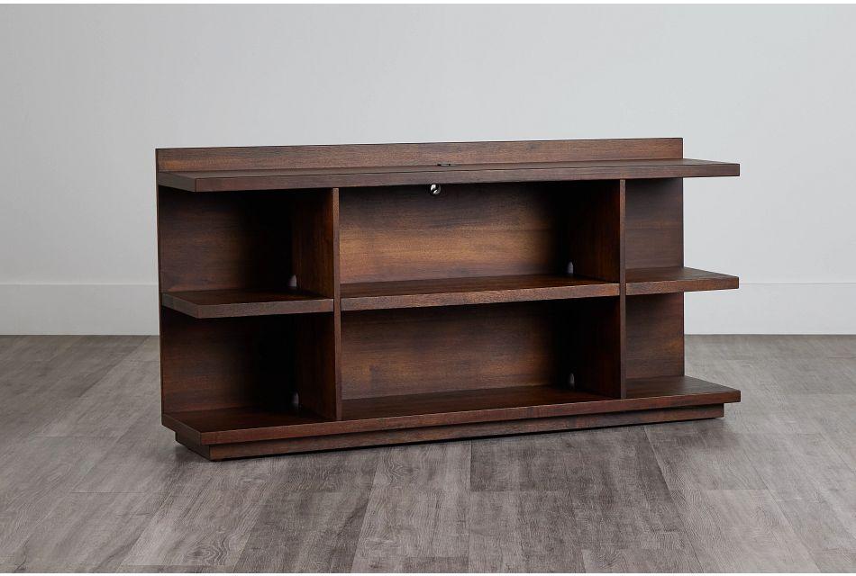 Vista Mid Tone Small Bookcase,  (0)