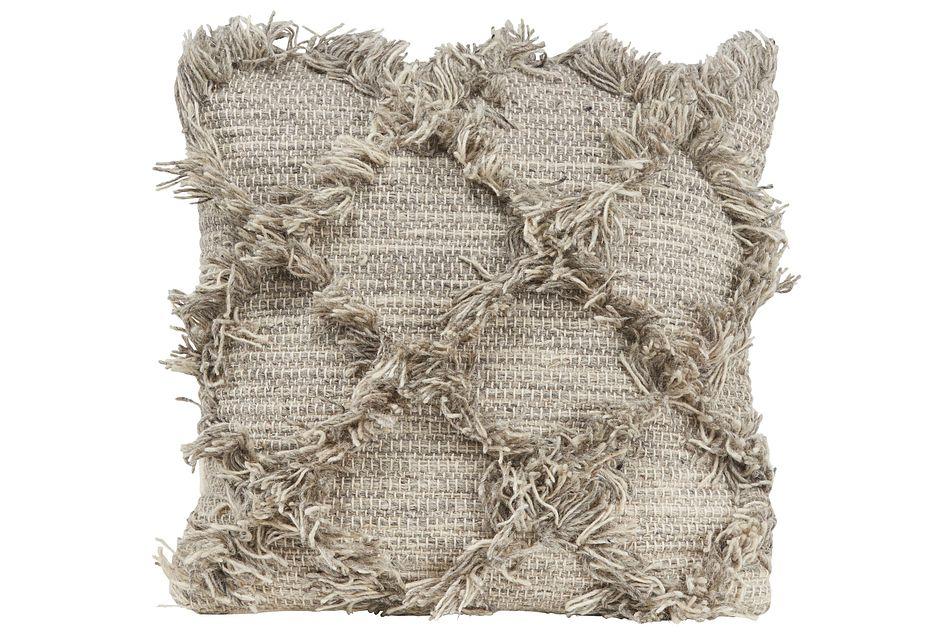 Jucar Light Gray   Accent Pillow,  (0)