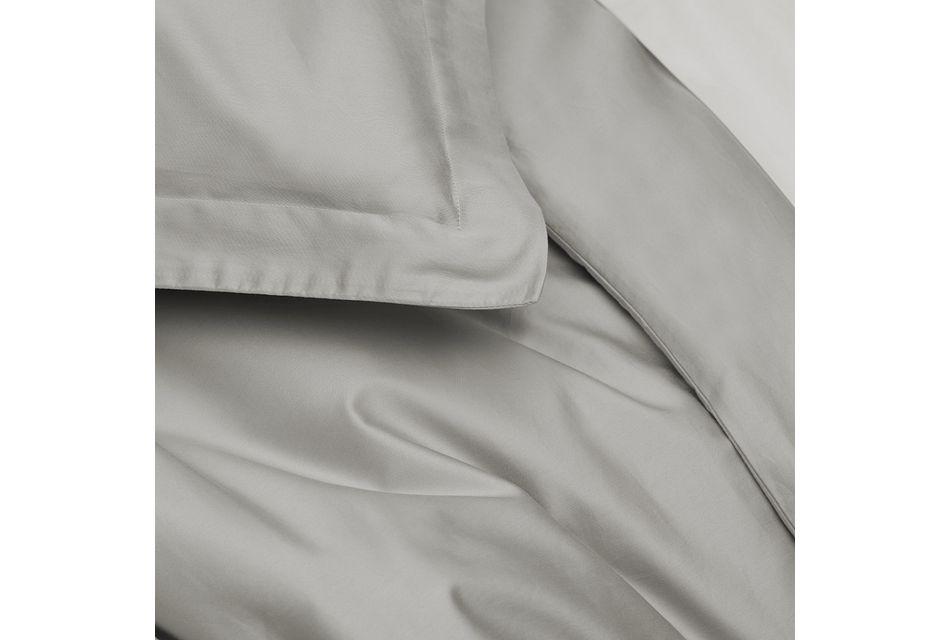 Organic Cotton Gray 300 Thread Duvet Set