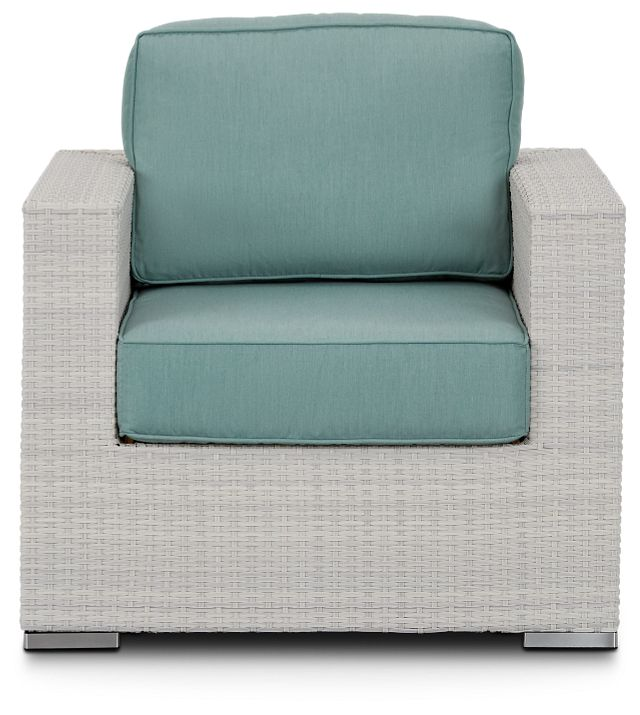 Biscayne Teal Chair (2)