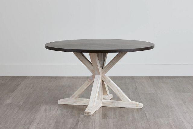 Jefferson Two-tone Round Table (0)