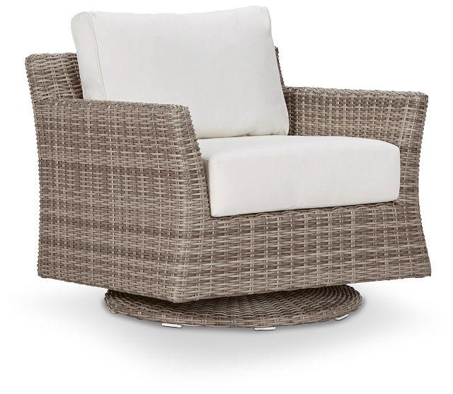 Raleigh White Swivel Chair (0)