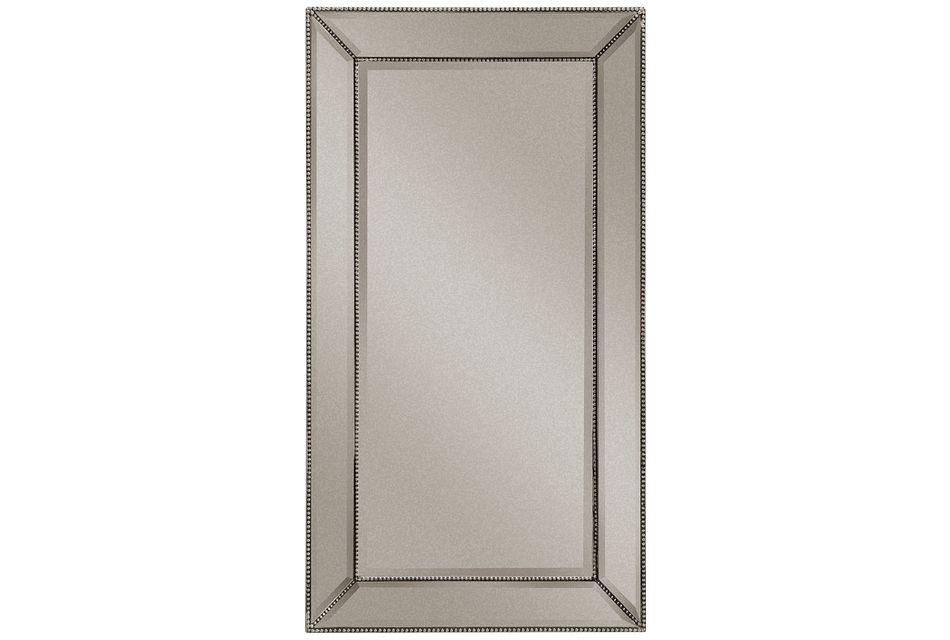 Adiva Silver Large Mirror