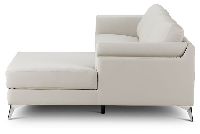 Gianna Gray Micro Right Chaise Sectional (2)