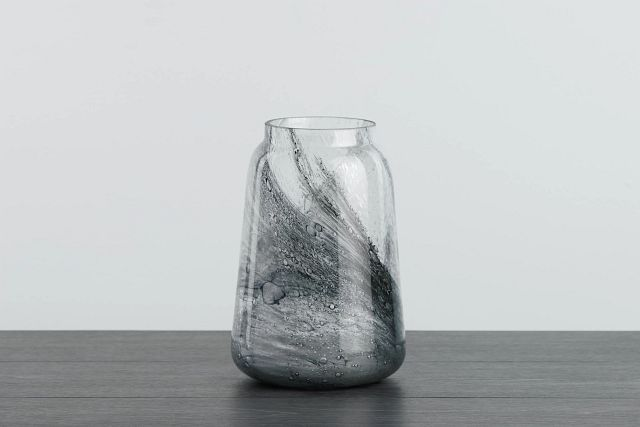 Flora Gray Vase (0)