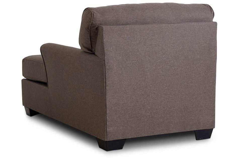 Laryn Dark Gray Micro Chaise