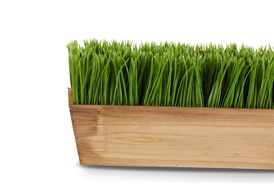 Trim Rectangular Grass,  (2)