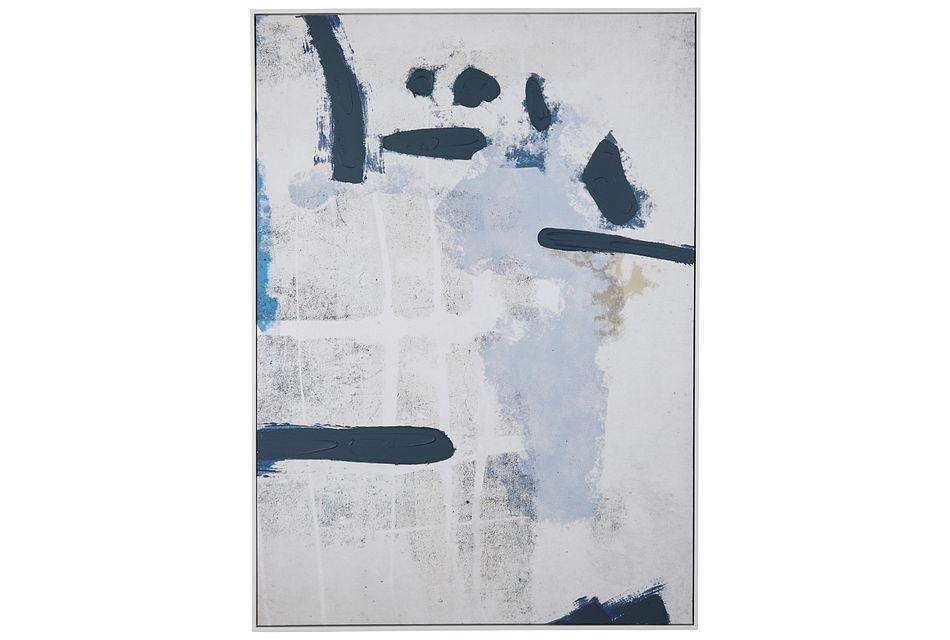 Ethereal Blue Framed Wall Art