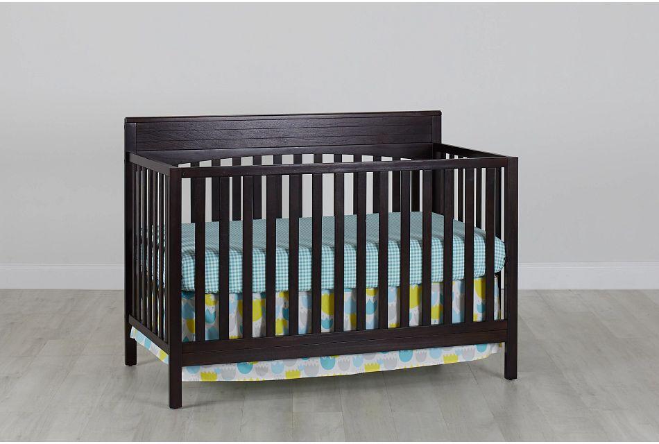 Parker Dark Tone 4-In-1 Crib, %%bed_Size%% (0)