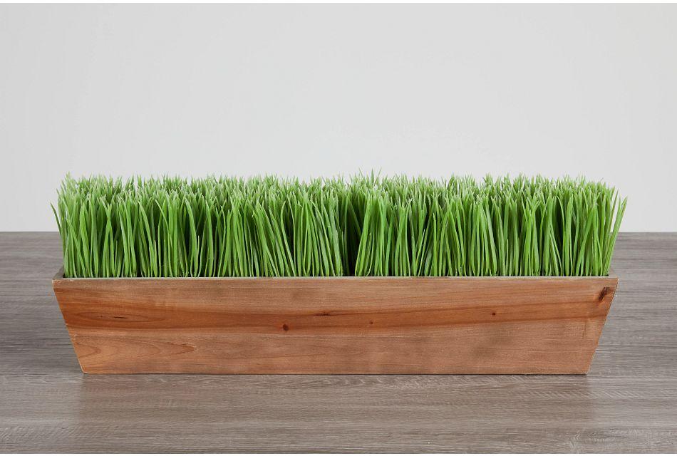 Trim Rectangular Grass,  (0)