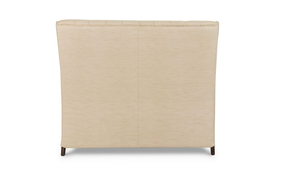 Sidney Taupe Uph Dining Bench