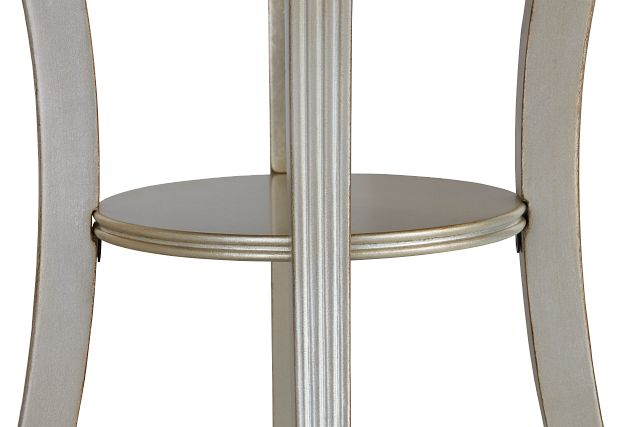 Zadie Silver Accent Table (3)