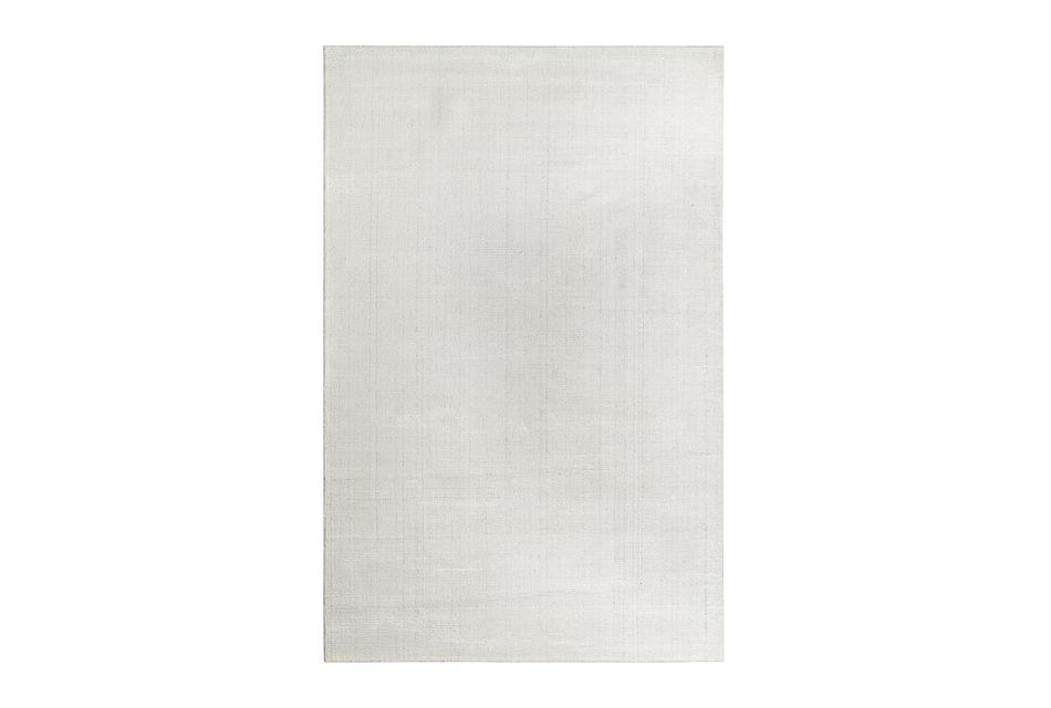 Divine White Viscose Bl 5x8 Area Rug