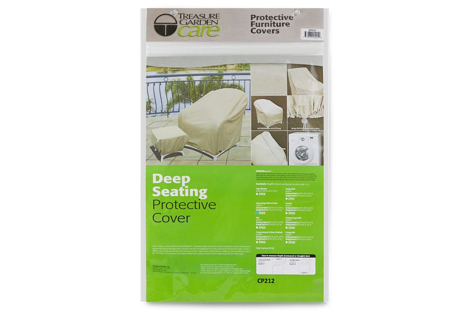 Khaki Large Outdoor Chair Cover