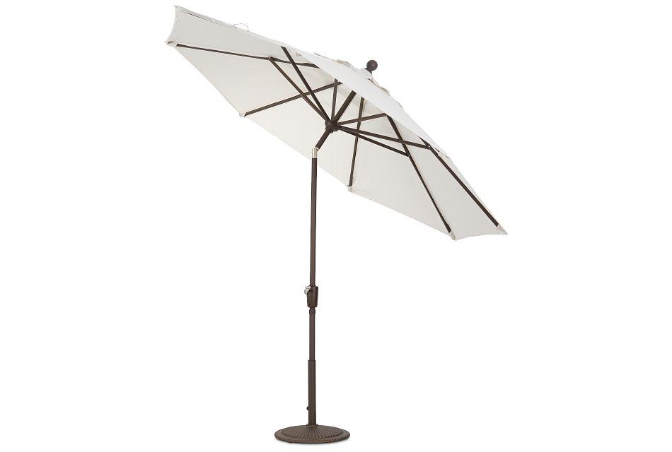 Maui White Umbrella Set,