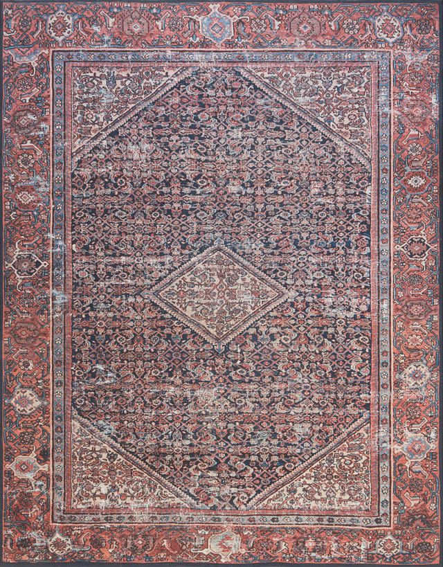 Lorna Red 5x7 Area Rug (0)