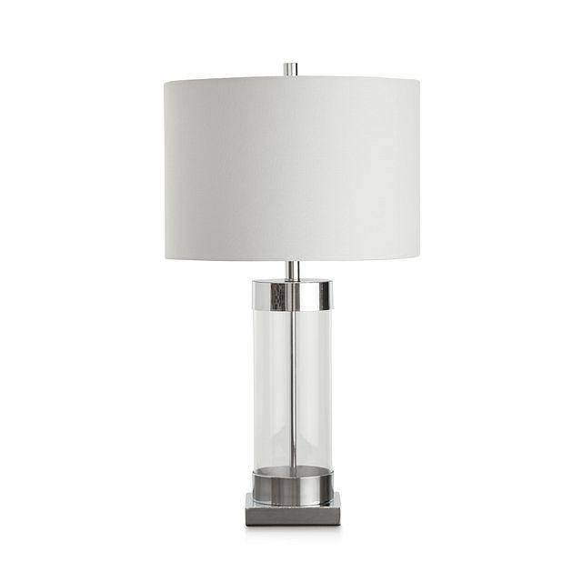 Lucia Chrome Small Table Lamp (1)